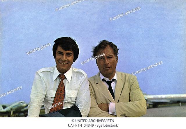 Wenn Du bei mir bist, Deutschland 1970, Regie: Franz Josef Gottlieb, Darsteller: Roy Black, Lex Barker