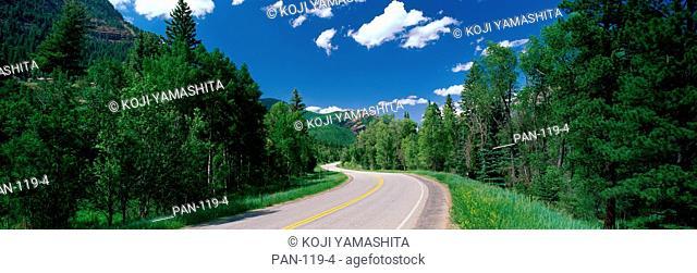 Route 133, near Aspen, Colorado, USA