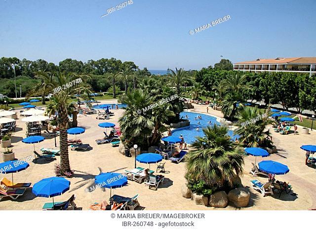 Hotel pool, Agia Napa, Cyprus