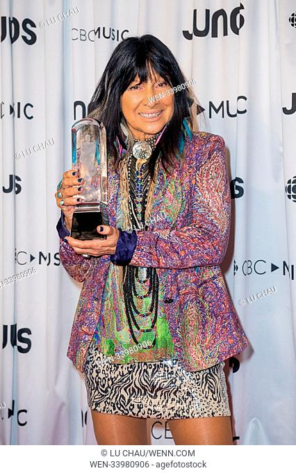 2018 JUNO Awards, held at the Rogers Arena in Vancouver, Canada. Featuring: Buffy Sainte-Marie Where: Vancouver, British Columbia