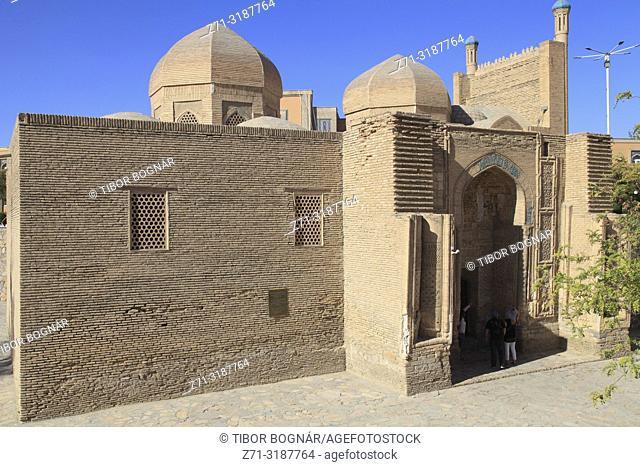 Uzbekistan; Bukhara; Maghok-i-Attar Mosque,