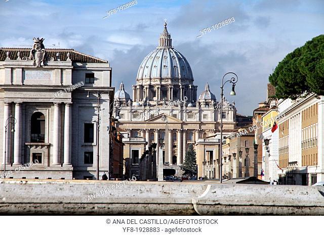 St. Peter's Basilica, St. Peter's Square, Vatican City