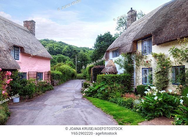 Dunster, Somerset, Exmoor, England, UK