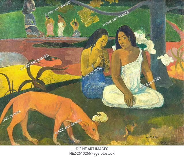 Arearea (Jokes), 1892. Artist: Gauguin, Paul Eugéne Henri (1848-1903)