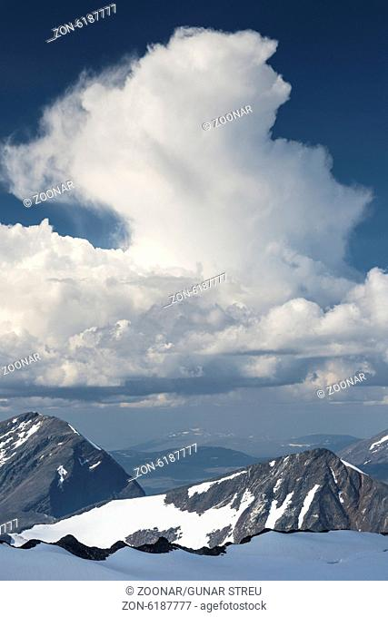 view to Mt. Niac, Sarek NP, Lapland, Sweden