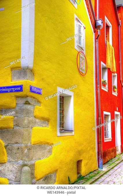 Passau street scene