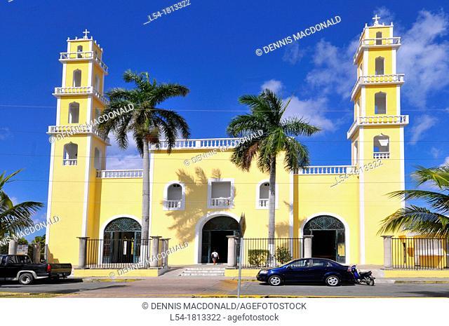 Corpus Christi Catholic Church Cozumel Mexico