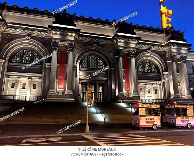Metropolitan Museum Of Art, Fifth Avenue, Manhattan, New York, USA