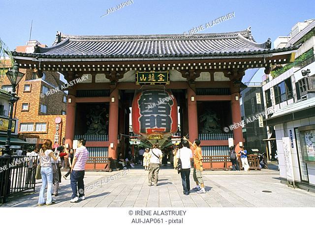 Japan - Tokyo - Asakusa District - Senso Ji Temple