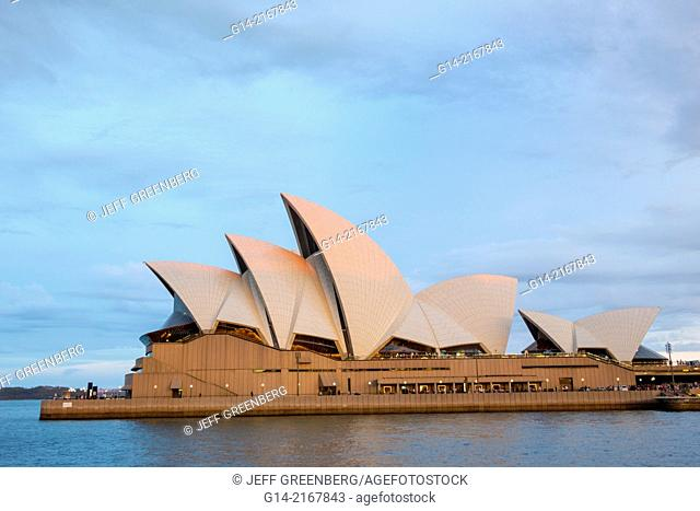 Australia, NSW, New South Wales, Sydney Opera House, roof