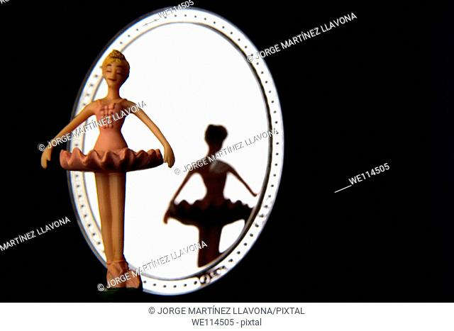 Ballerina on a music box