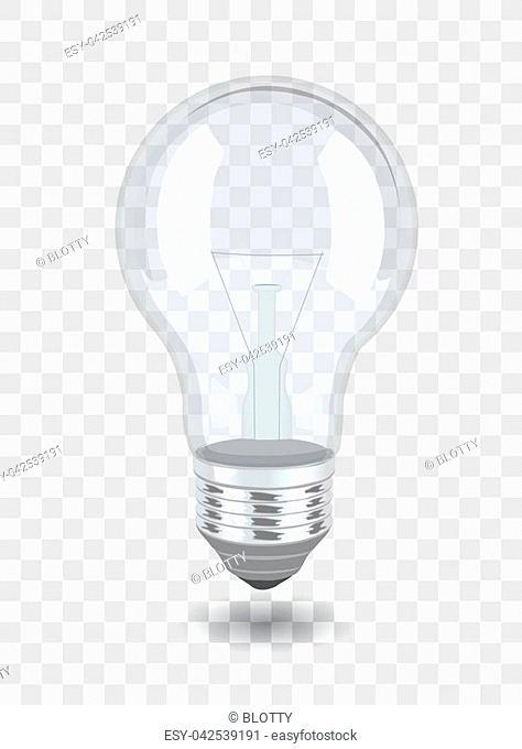 Vector bulb over background. eps 10 illustration