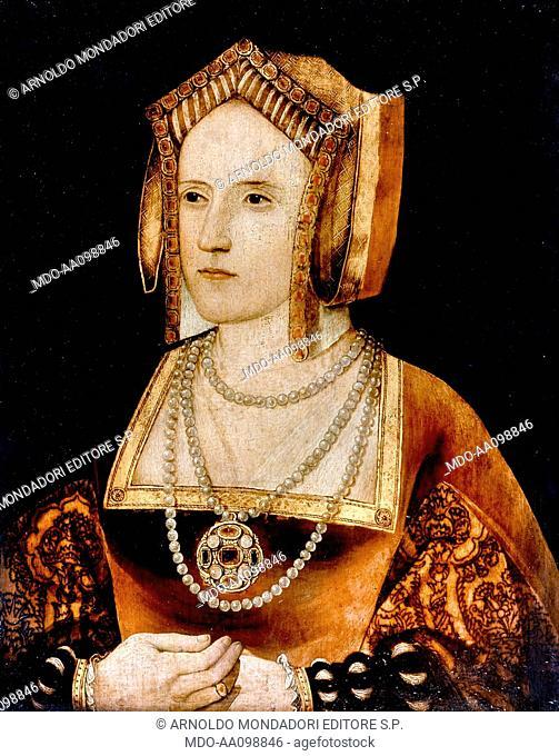 Portrait of Catherine Parr, 1520, 16th Century