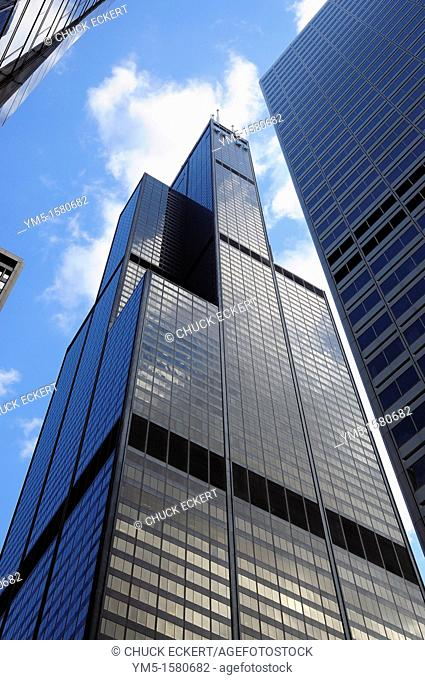 Chicago's Willis Tower formerly known as the Sears Tower. Tallest building in North America