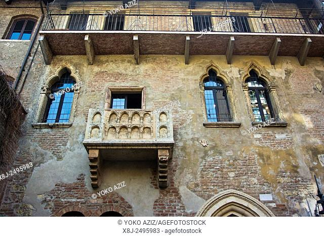 Italy, Verona, Juliet house