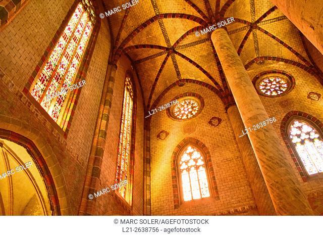 Couvent des Jacobins, Church of Les Jacobins. Toulouse, Haute Garonne, France