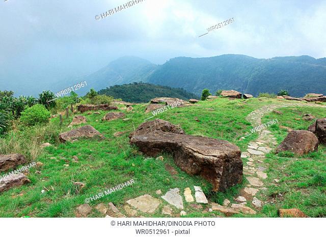 View of valley , Cherrapunji , Sohra , Meghalaya , India