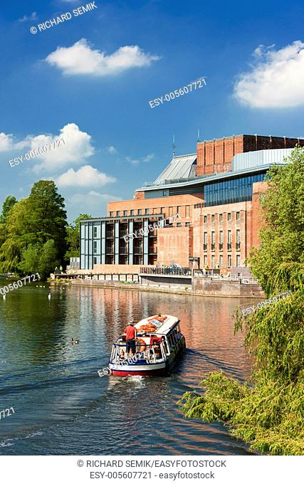 Royal Shakespeare Company Theatre, Stratford-upon-Avon, Warwickshire, England