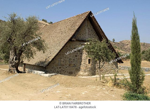 Panagia Tis Podithou is a Byzantine church built in 1502. It is a UNESCO world heritage site