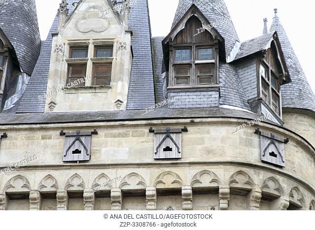 City Gate Porte Cailhau from Bordeaux, France