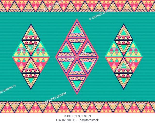 Unusual geometric seamless pattern