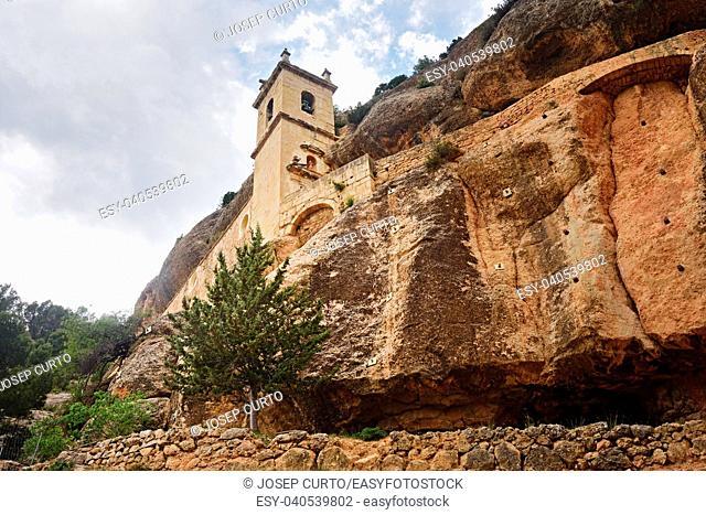 Church of the Virgen de la Balma, Zorita del Maestrazgo, Castellon province, Spain