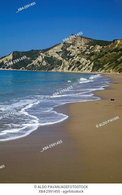 Kanoula beach, Kavos, Corfu island, Greece