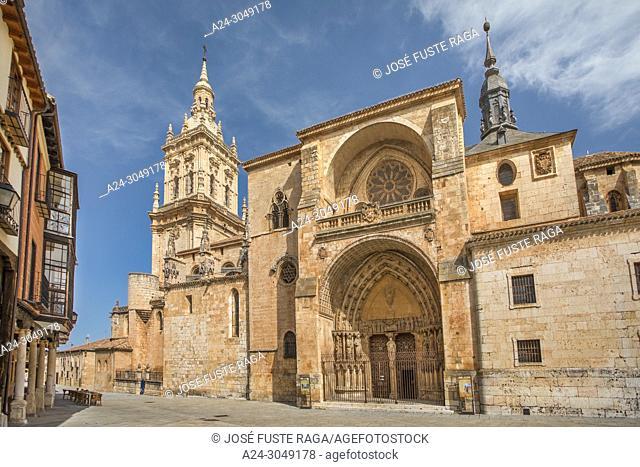 Spain, Soria Province, El Burgo de Osma City