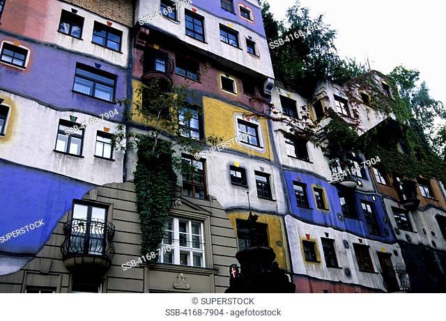 Austria, Vienna, Hundertwasser House