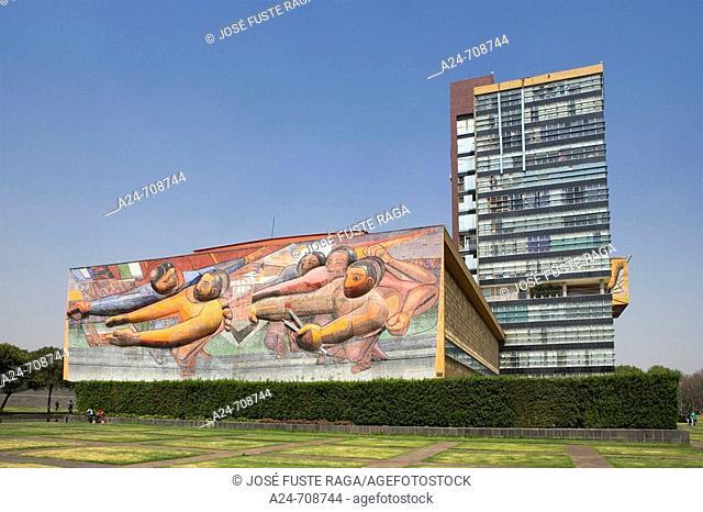 Mexico City. Ciudad universitaria. Mexico