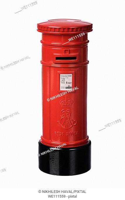 British postbox mailbox