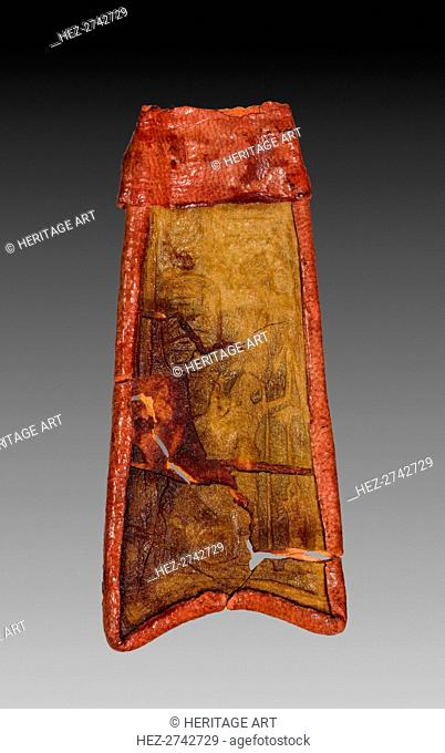 Tab from Mummy Band, 945-715 BC. Creator: Unknown