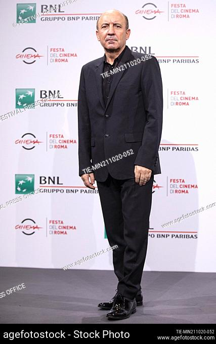 Bohdan Batruch during the photocall of movie' Francesco' at the 15th Rome Film Festival, Rome, ITALY-21-10.-2020