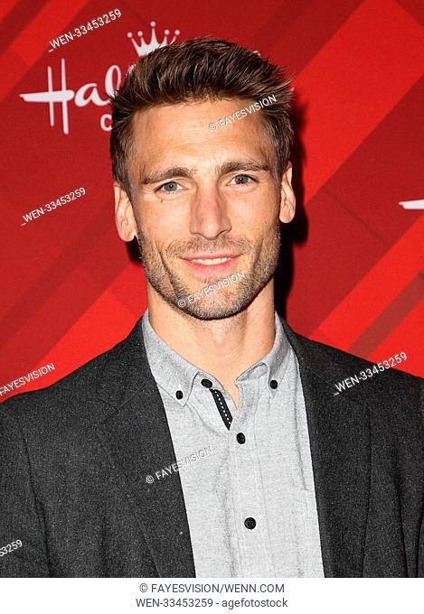 Hallmark Channel Screening of Christmas at Holly Lodge Featuring: Andrew Walker Where: Los Angeles, California, United States When: 04 Dec 2017 Credit:...