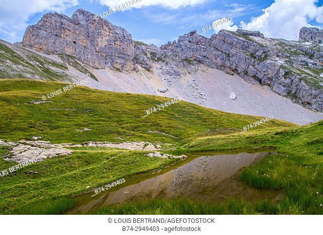 lake of charamillon, chamonix, haute savoie