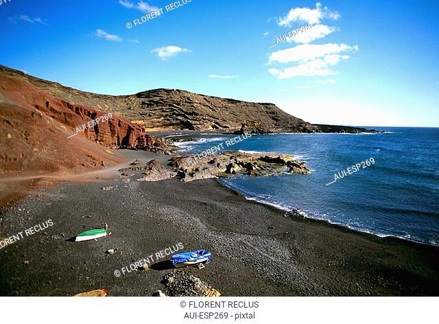 Spain - Canary Islands - Lanzarote - El Golfo