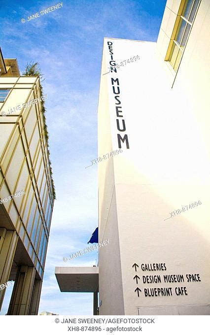 England, London, Shad Thames, Design museum