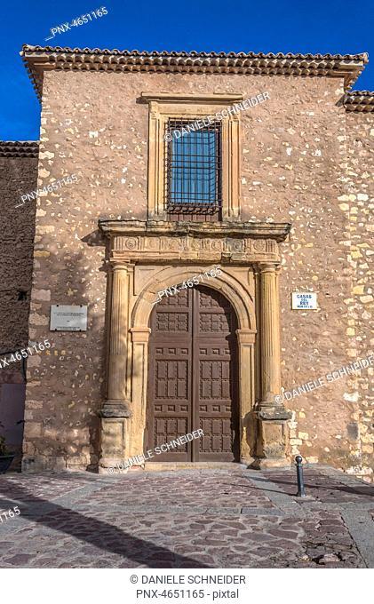 Spain, autonomous community of Castile - La Mancha, city of Cuenca (UNESCO World Heritage) (Most Beautiful Village in Spain), Casa del Rey