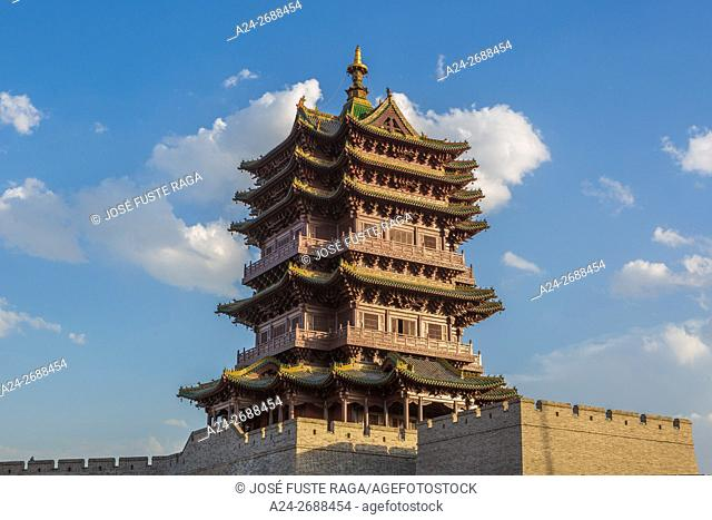 China, Shanxi Province, Datong City, Old City Wall
