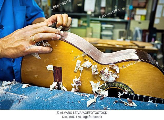 Guitar Luthier , Madrid, Spain