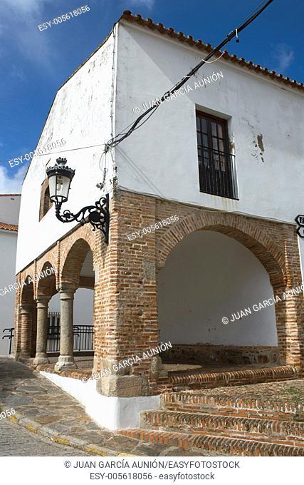 Town hall porch, Feria Badajoz