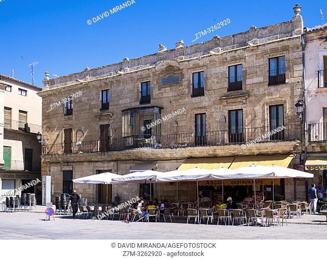 Antigua Audiencia y Cárcel. Ciudad Rodrigo. Salamanca. Castilla León. España