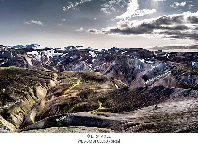 Iceland, South West, Landmannalaugar