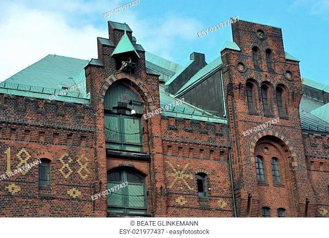 Hansestadt Hamburg - Detail in der Speicherstadt