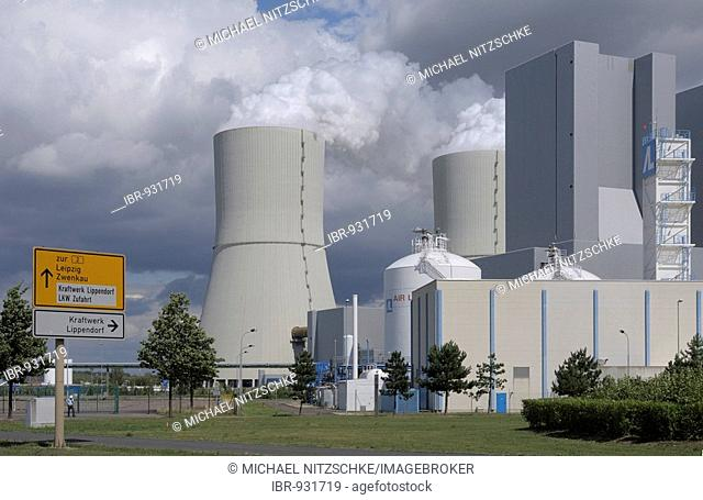 Lippendorf Power Station, Saxonia, Germany, Europe