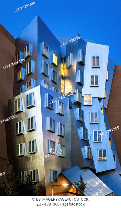 Frank Gehry's Stata Center at the Massachusetts Institute of Technology