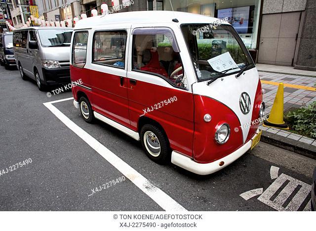 modified VW beetle in Tokyo