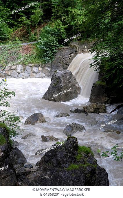 Rappenlochschlucht gorge, Guetle, Dornbirn, Vorarlberg, Austria, Europe