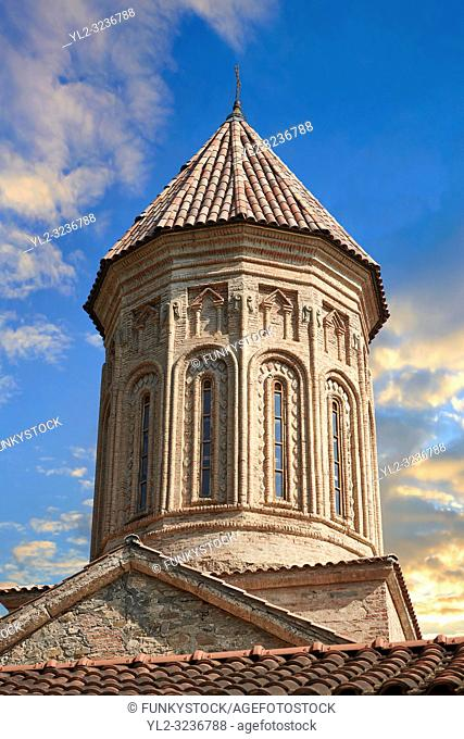 close up ictures & image of the Church of the Transfiguration of Ikalto monastery was founded by Saint Zenon, one of the 13 Syrian Fathers