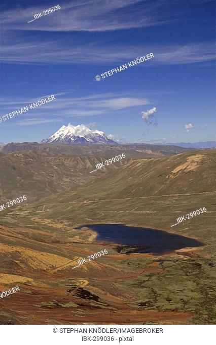 Nevado Illimani (6439m), Boliva